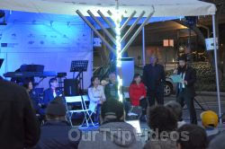 Annual Chanukah Lighting - Menorah of Warmth, Fremont, CA, USA - Picture 38