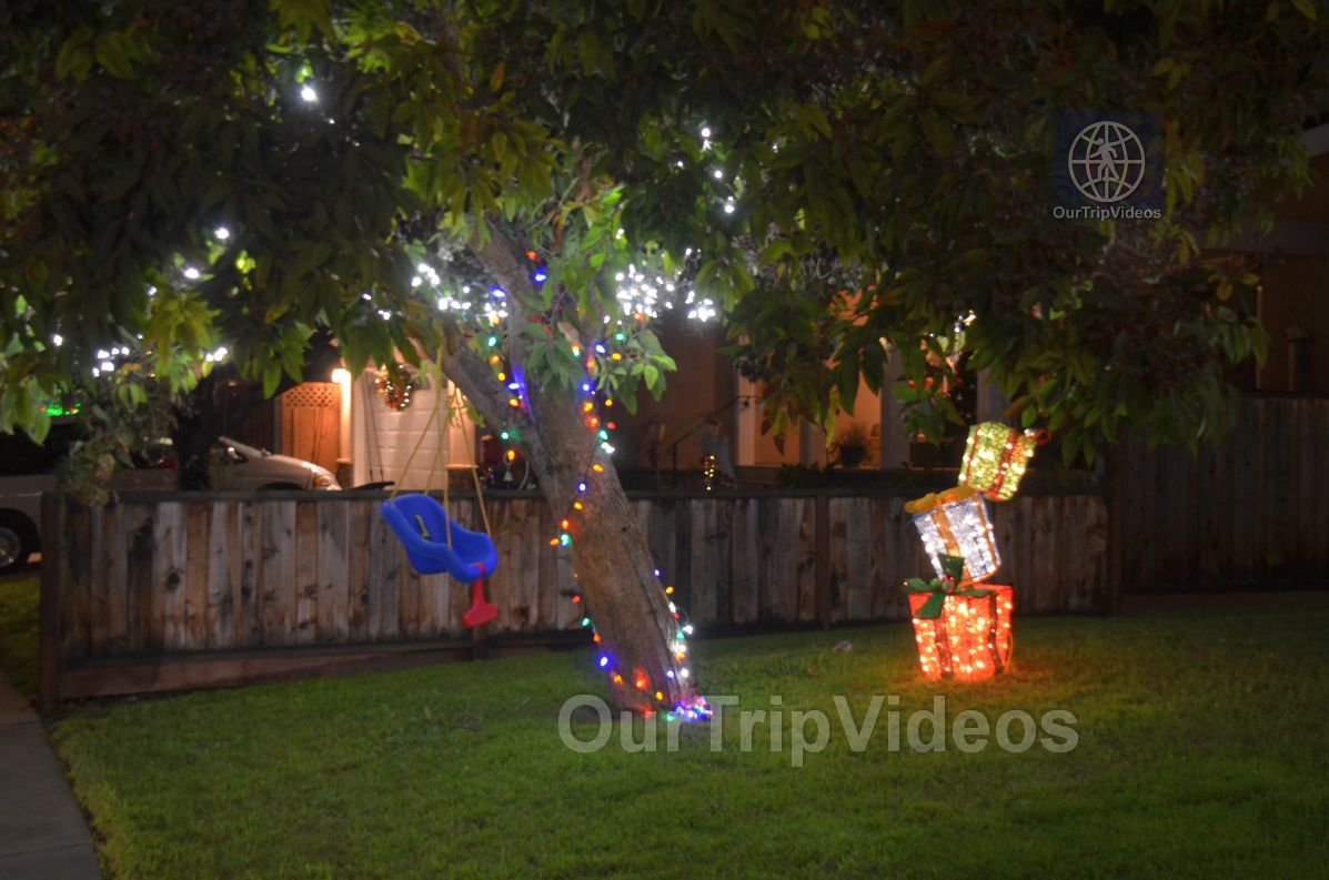 Crippsmas Place - Plywood decorations and Christmas Lights, Fremont, CA, USA - Picture 5 of 25