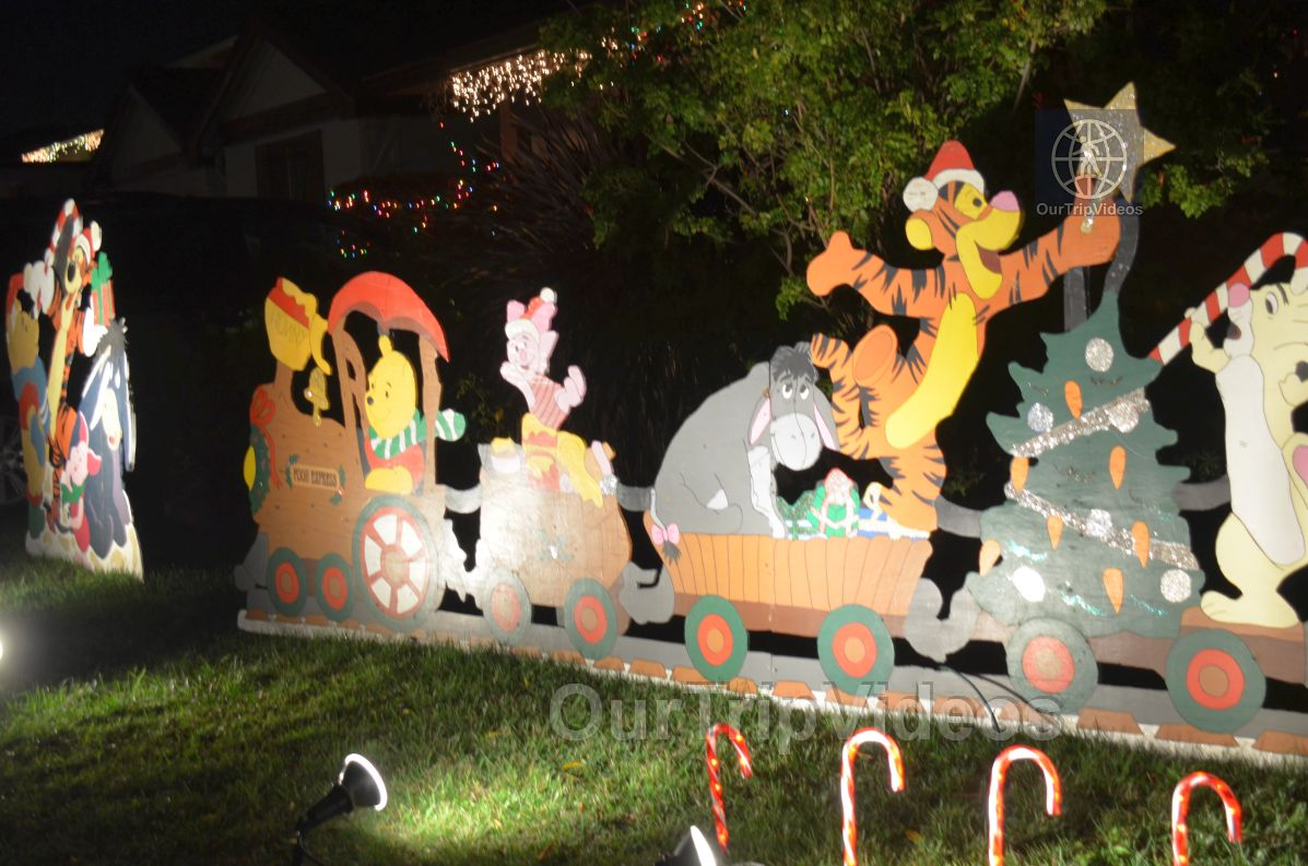 Crippsmas Place - Plywood decorations and Christmas Lights, Fremont, CA, USA - Picture 9 of 25