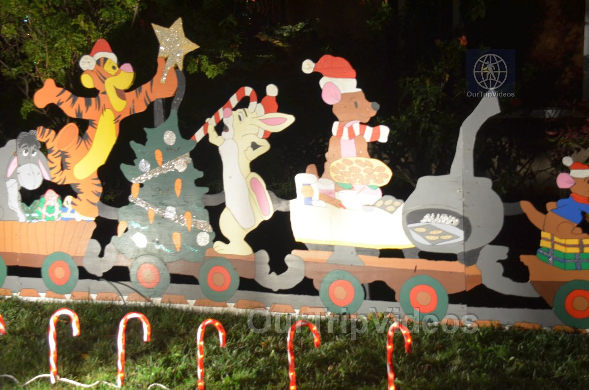 Crippsmas Place - Plywood decorations and Christmas Lights, Fremont, CA, USA - Picture 10 of 25