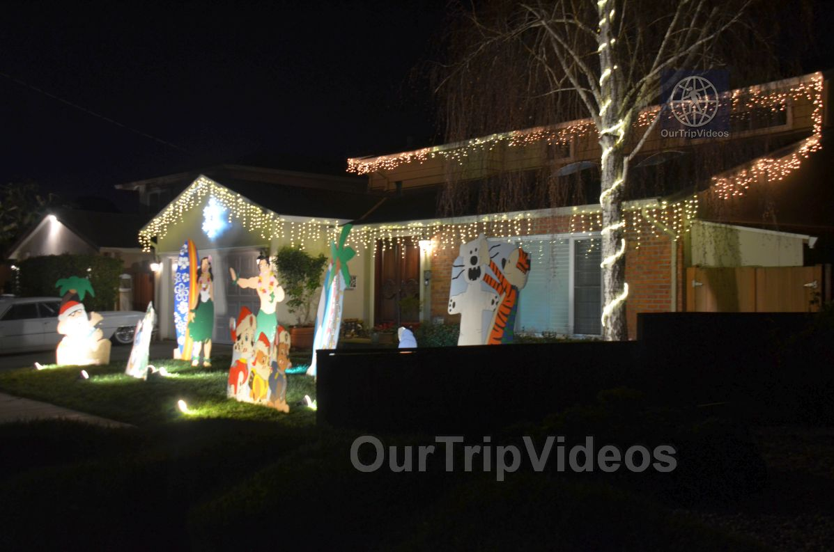 Crippsmas Place - Plywood decorations and Christmas Lights, Fremont, CA, USA - Picture 11 of 25