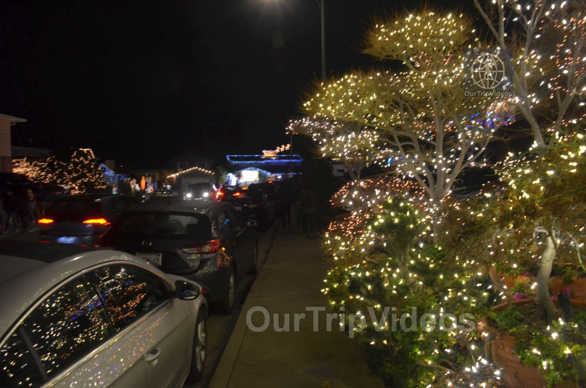 Crippsmas Place - Plywood decorations and Christmas Lights, Fremont, CA, USA - Picture 29 of 50