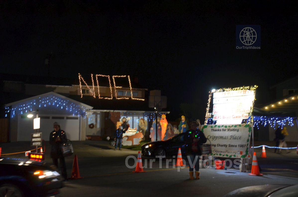 Crippsmas Place - Plywood decorations and Christmas Lights, Fremont, CA, USA - Picture 41 of 50