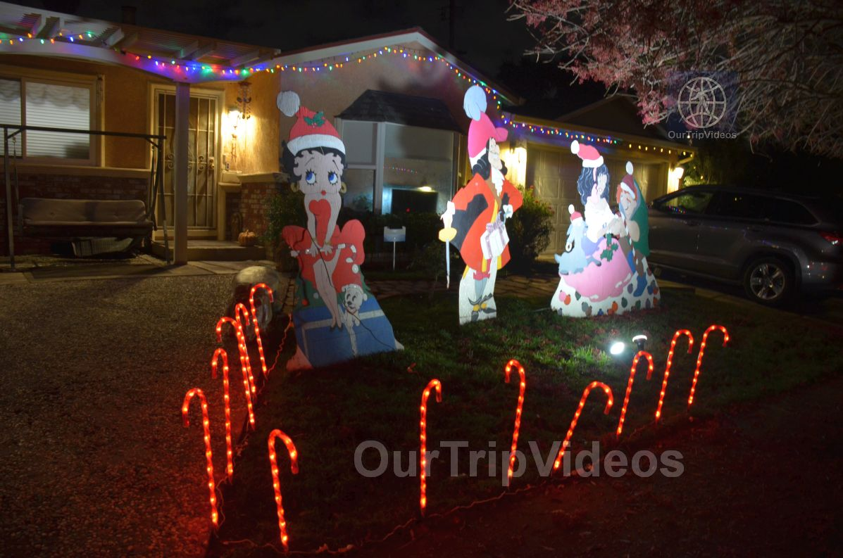 Crippsmas Place - Plywood decorations and Christmas Lights, Fremont, CA, USA - Picture 79 of 100