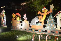 Crippsmas Place - Plywood decorations and Christmas Lights, Fremont, CA, USA - Picture 9
