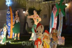 Crippsmas Place - Plywood decorations and Christmas Lights, Fremont, CA, USA - Picture 13