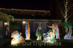 Crippsmas Place - Plywood decorations and Christmas Lights, Fremont, CA, USA - Picture 15
