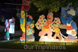 Crippsmas Place - Plywood decorations and Christmas Lights, Fremont, CA, USA - Picture 20