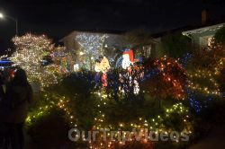 Crippsmas Place - Plywood decorations and Christmas Lights, Fremont, CA, USA - Picture 26