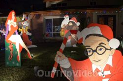 Pictures of Crippsmas Place - Plywood decorations and Christmas Lights, Fremont, CA, USA
