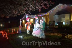 Crippsmas Place - Plywood decorations and Christmas Lights, Fremont, CA, USA - Picture 78