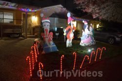 Crippsmas Place - Plywood decorations and Christmas Lights, Fremont, CA, USA - Picture 79