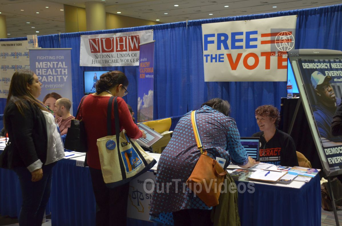 California Democratic Party State Convention, San Francisco, CA, USA - Picture 9 of 25
