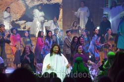 Pictures of Easter at Cathedral of Faith, San Jose, CA, USA