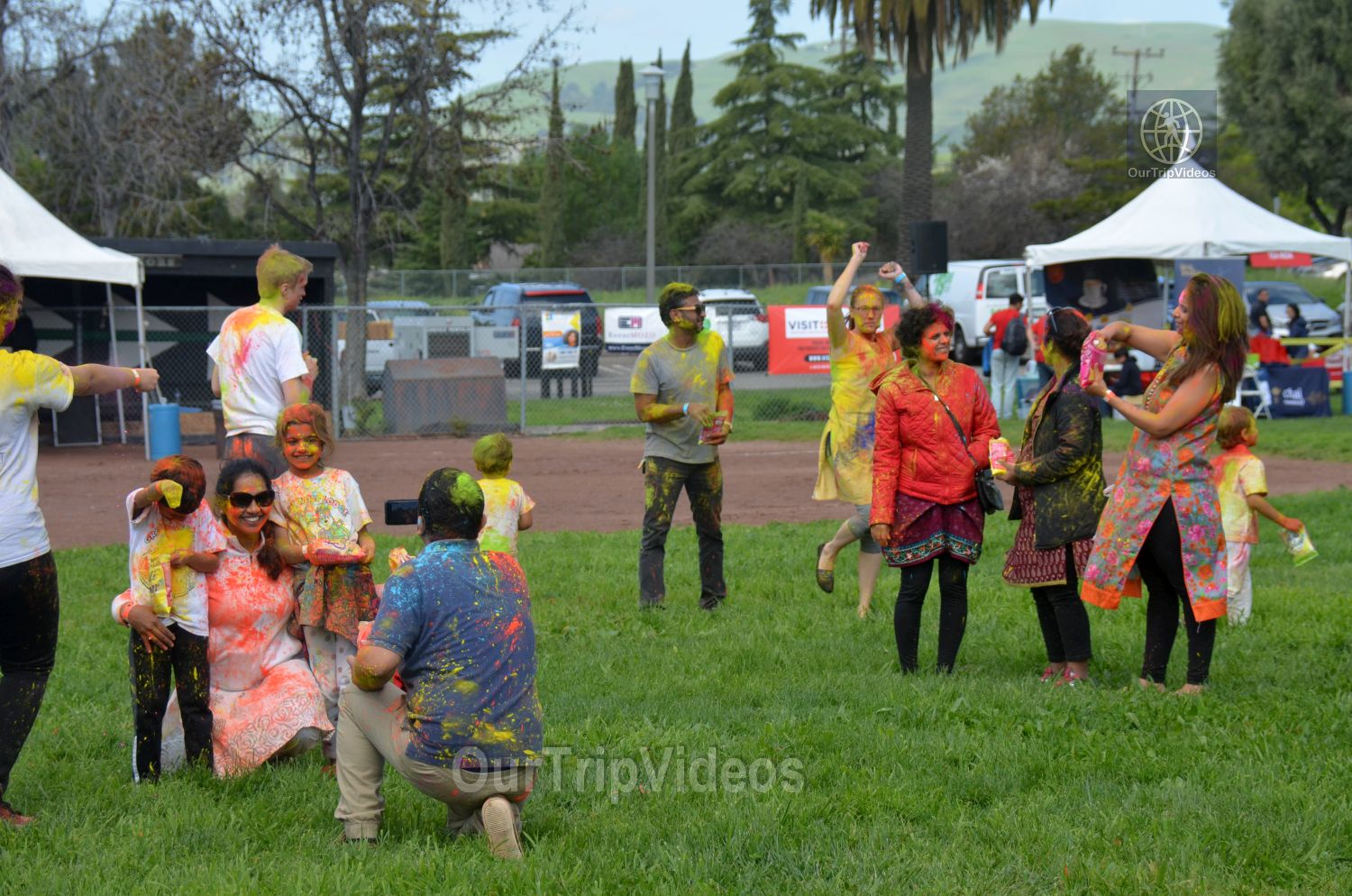 Festival of Colors - FOG and UPMA Holi, Fremont,CA, USA - Picture 5 of 25