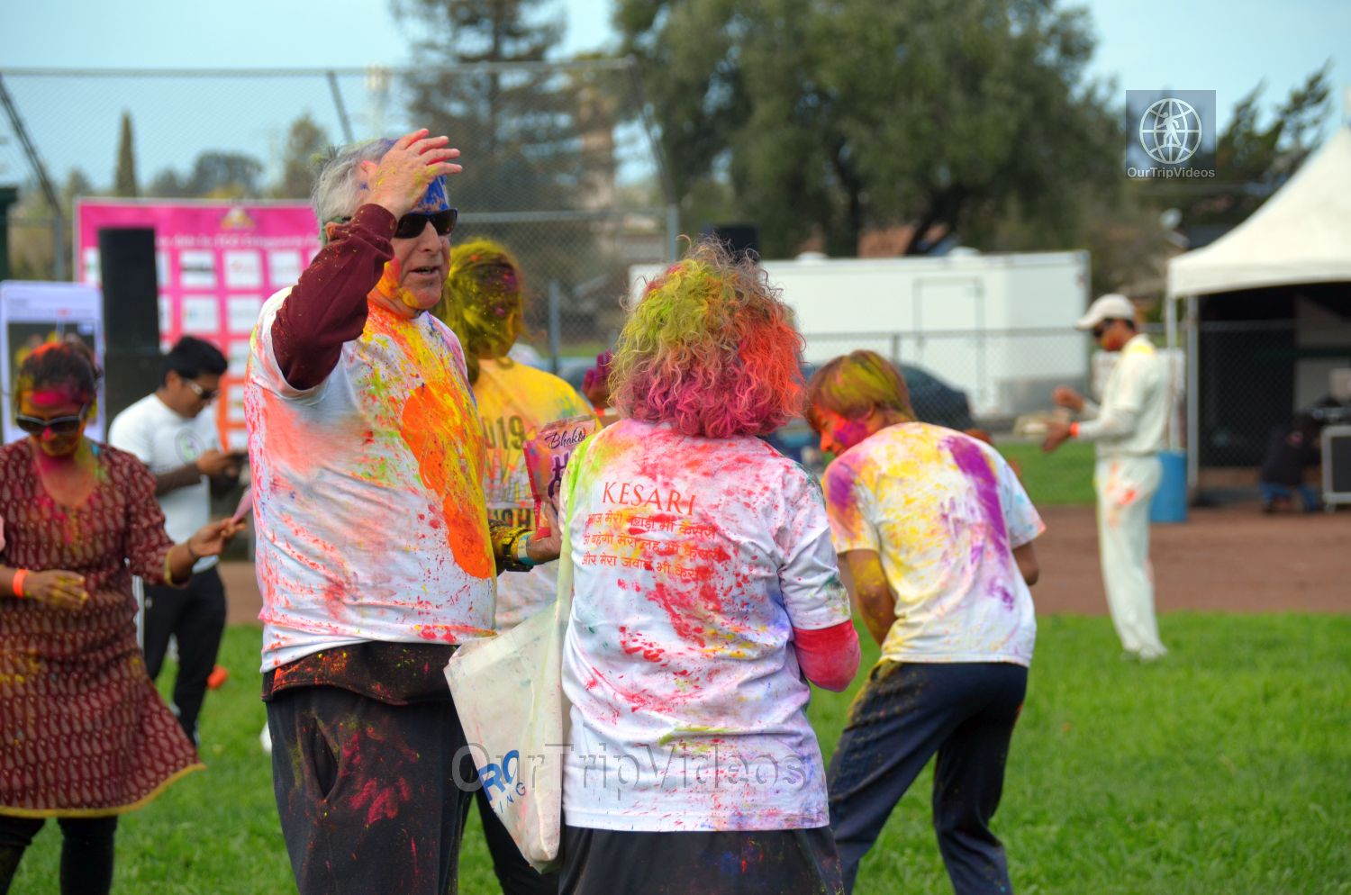 Festival of Colors - FOG and UPMA Holi, Fremont,CA, USA - Picture 8 of 25