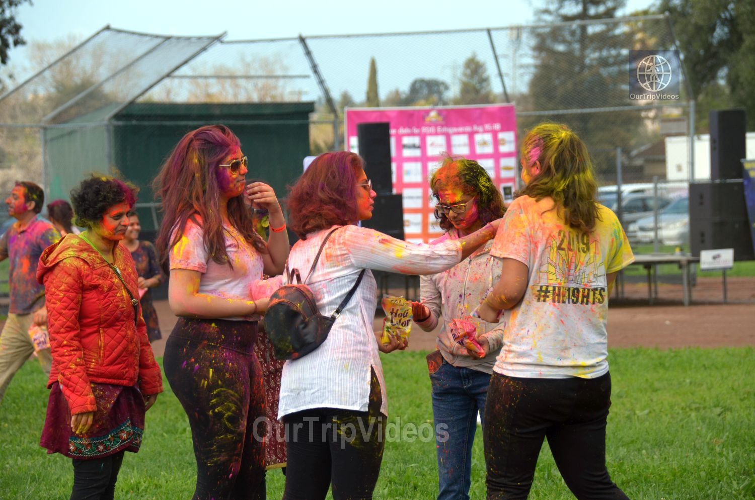Festival of Colors - FOG and UPMA Holi, Fremont,CA, USA - Picture 9 of 25