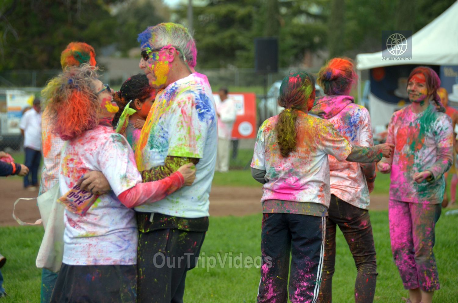 Festival of Colors - FOG and UPMA Holi, Fremont,CA, USA - Picture 10 of 25