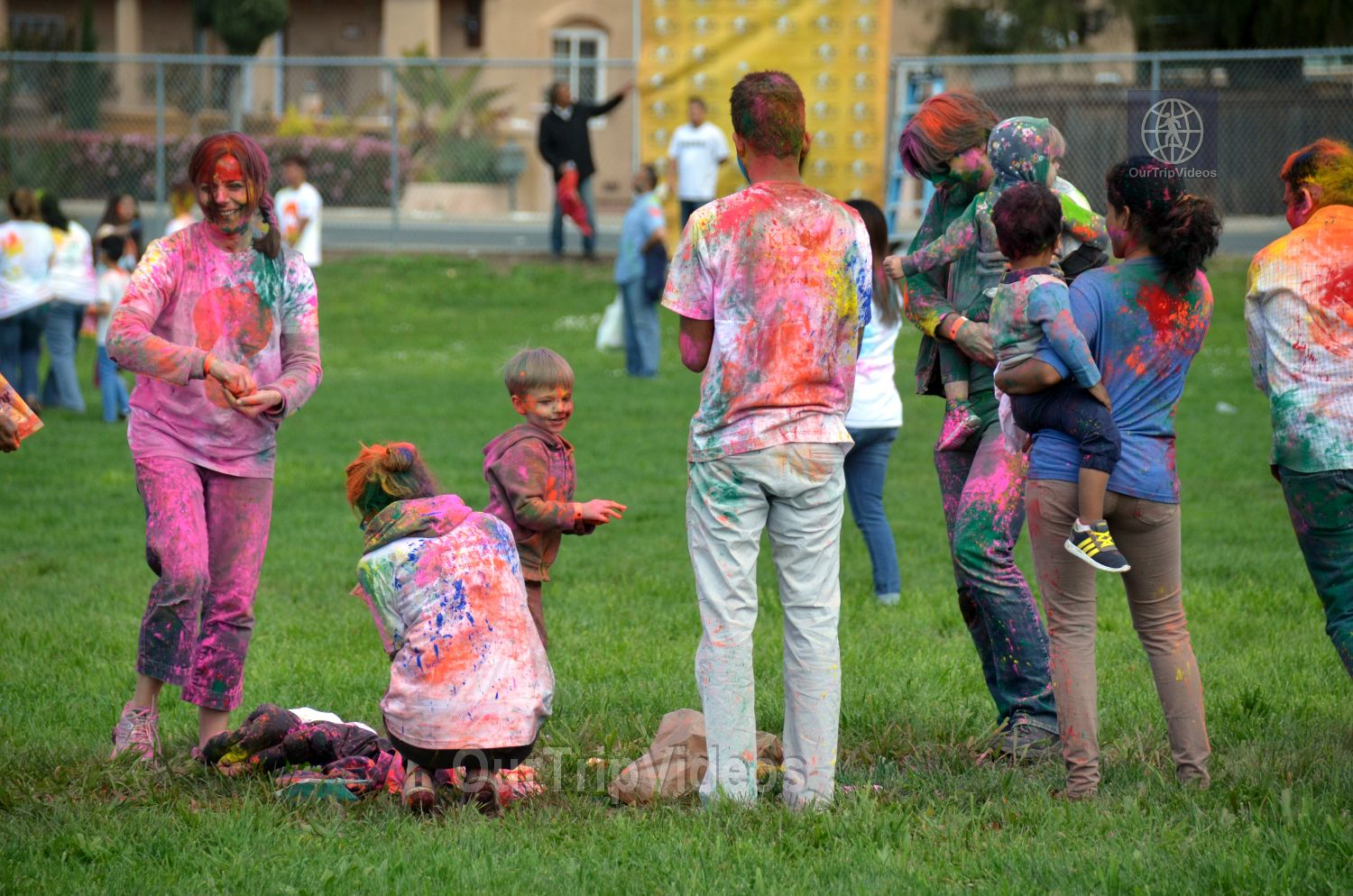 Festival of Colors - FOG and UPMA Holi, Fremont,CA, USA - Picture 11 of 25