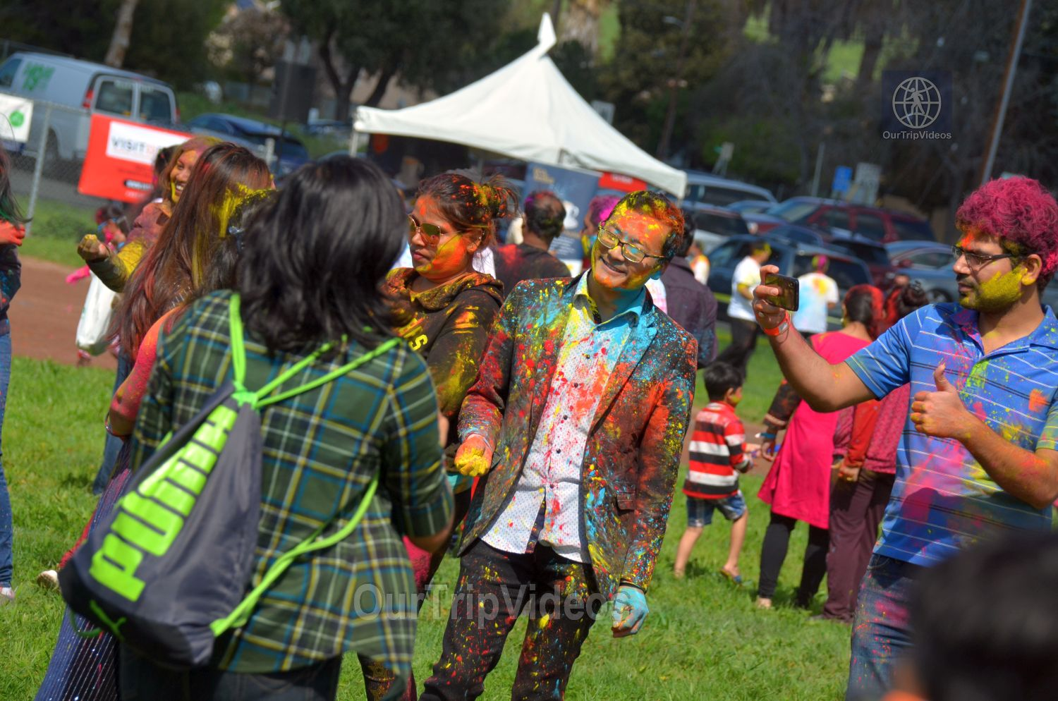 Festival of Colors - FOG and UPMA Holi, Fremont,CA, USA - Picture 12 of 25