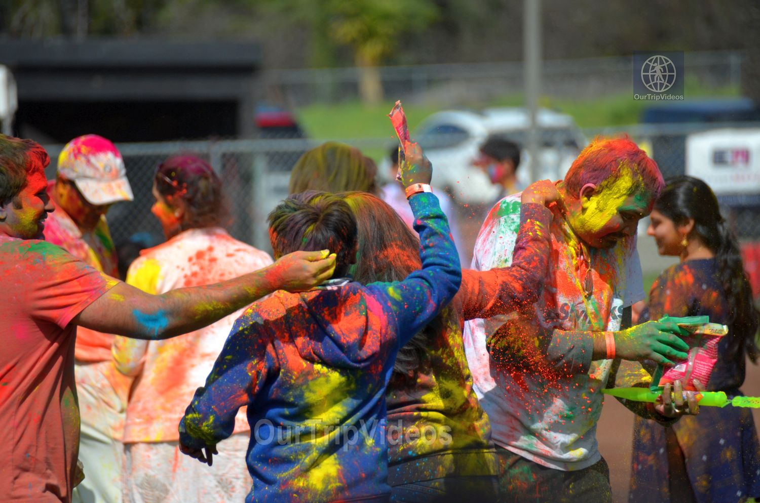 Festival of Colors - FOG and UPMA Holi, Fremont,CA, USA - Picture 15 of 25