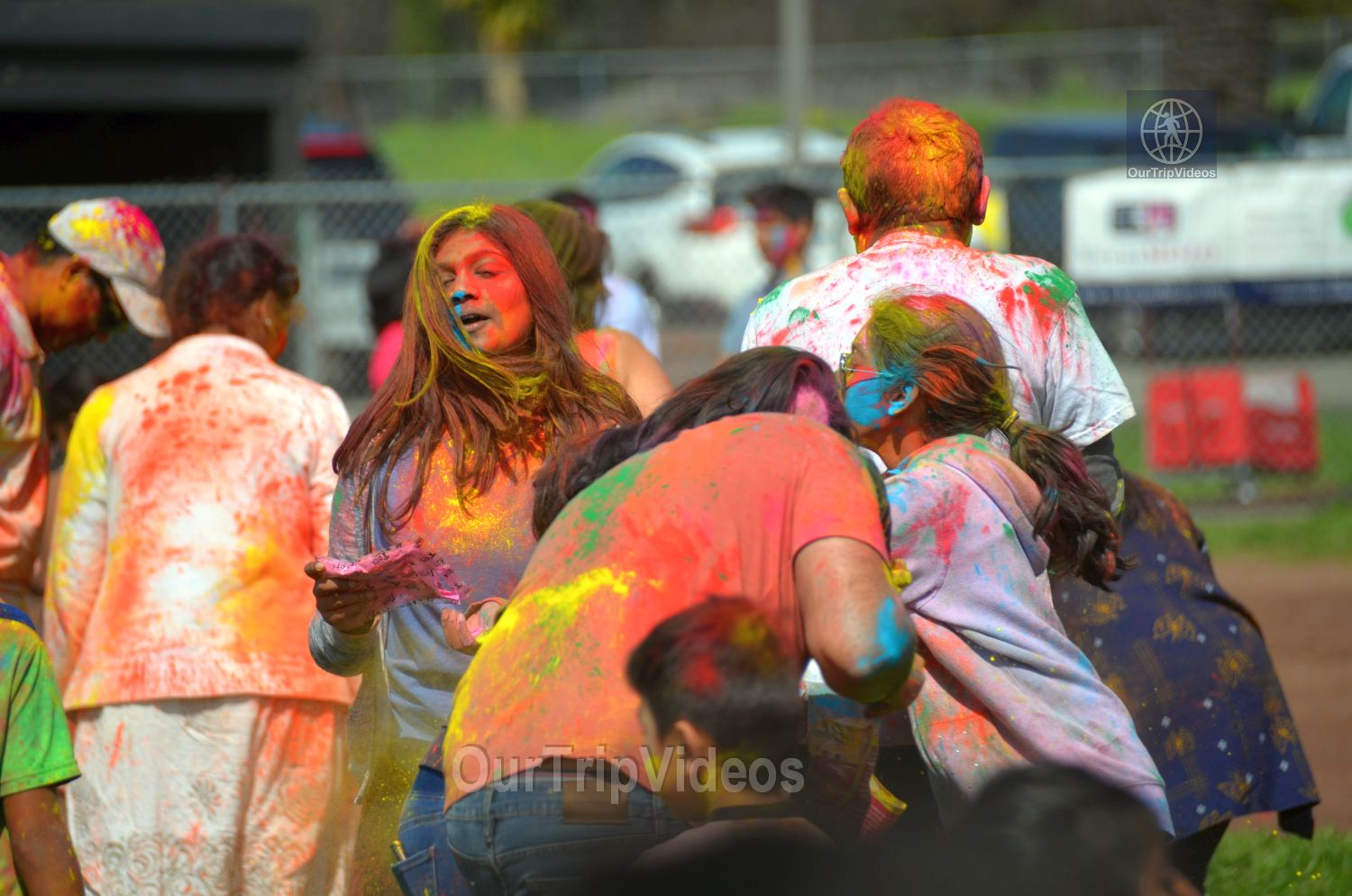 Festival of Colors - FOG and UPMA Holi, Fremont,CA, USA - Picture 16 of 25