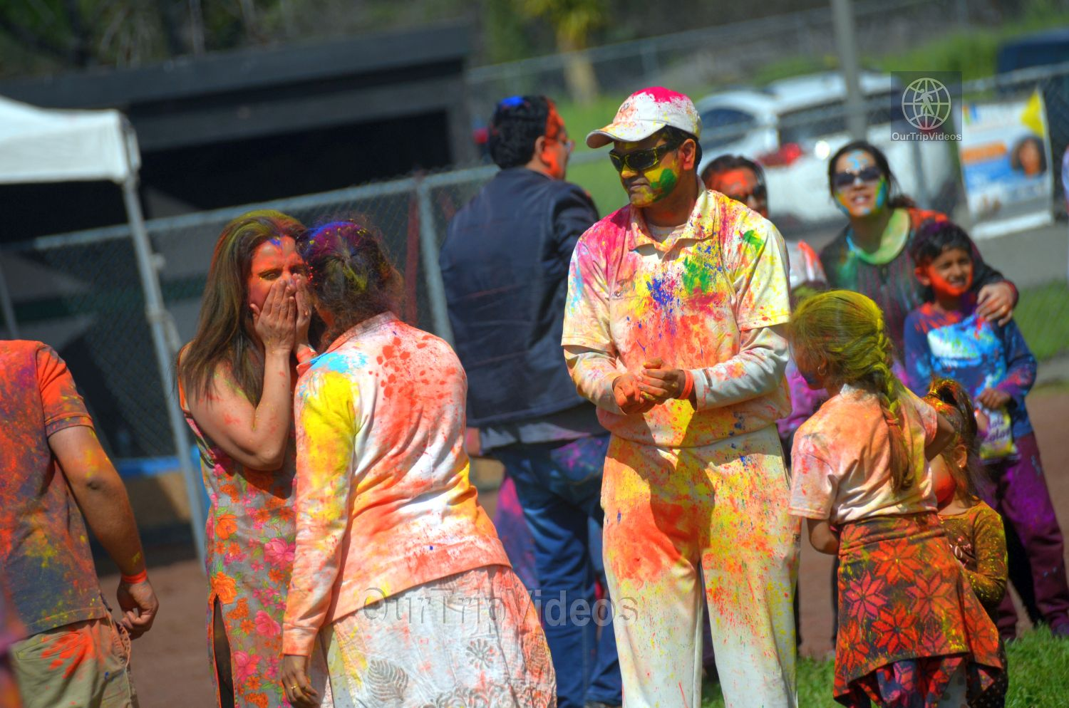 Festival of Colors - FOG and UPMA Holi, Fremont,CA, USA - Picture 20 of 25