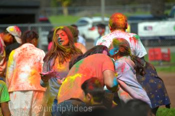 Festival of Colors - FOG and UPMA Holi, Fremont,CA, USA - Picture 16