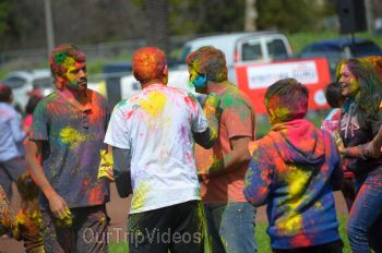 Festival of Colors - FOG and UPMA Holi, Fremont,CA, USA - Picture 19
