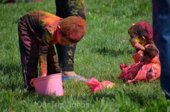 Festival of Colors - FOG and UPMA Holi, Fremont,CA, USA - Picture 22