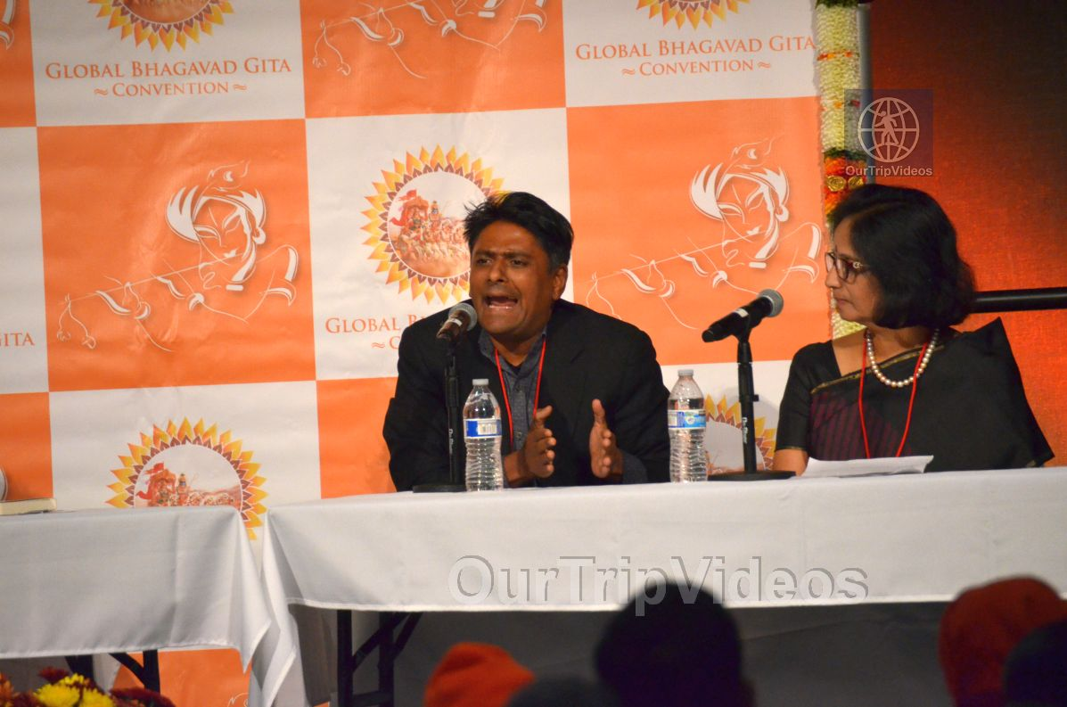 Global Bhagavad Gita Convention at SJS University, San Jose, CA, USA - Picture 50 of 50