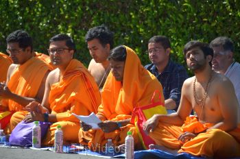 Sri Maha Rudra Yagna celebrations, Sunnyvale, CA, USA - Picture 20