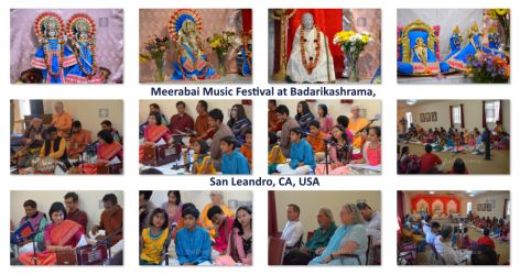 Pictures of Meerabai Music Festival at Badarikashrama, San Leandro, CA, USA