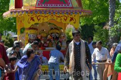 Sri Jagannath Bahuda Yatra - Suna Vesha, Fremont, CA, USA - Picture 31