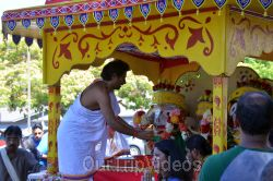 Sri Jagannath Bahuda Yatra - Suna Vesha, Fremont, CA, USA - Picture 40