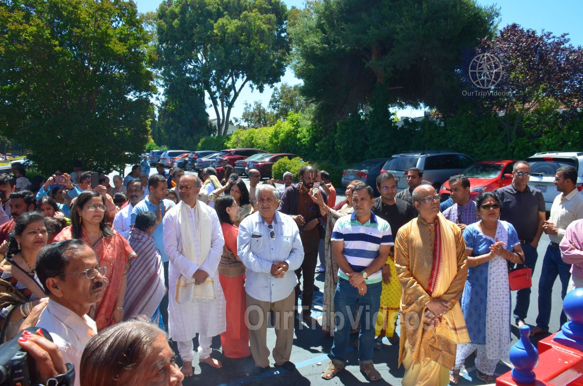 Bahuda Jatra at Sunnyvale Hindu Temple, Sunnyvale, CA, USA - Picture 23 of 25