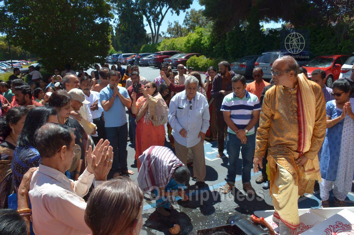 Bahuda Jatra at Sunnyvale Hindu Temple, Sunnyvale, CA, USA - Picture 24 of 25