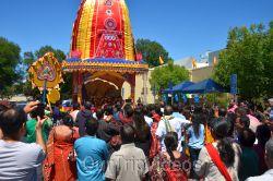 Bahuda Jatra at Sunnyvale Hindu Temple, Sunnyvale, CA, USA - Picture 19