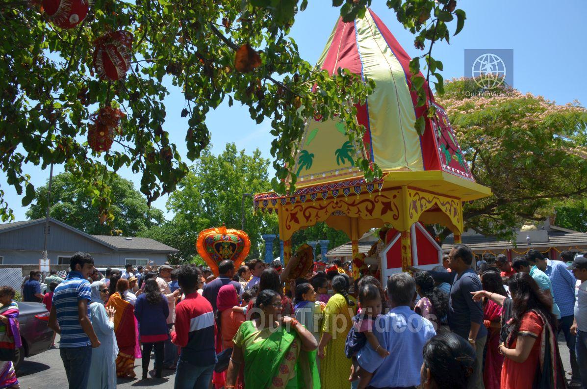 Sri Jagannath Ratha Yatra/Chariot Festival, Fremont, CA, USA - Picture 60 of 75