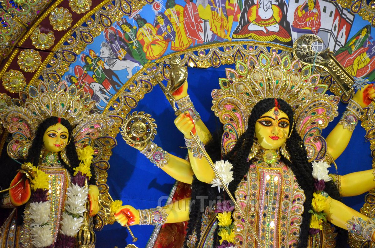 FOG Bengal Durga Puja - Sindur Khela and Temple Aarati, Fremont, CA, USA - Picture 2 of 25