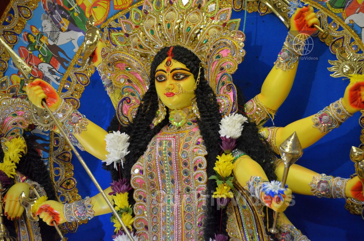FOG Bengal Durga Puja - Sindur Khela and Temple Aarati, Fremont, CA, USA - Picture 5 of 25