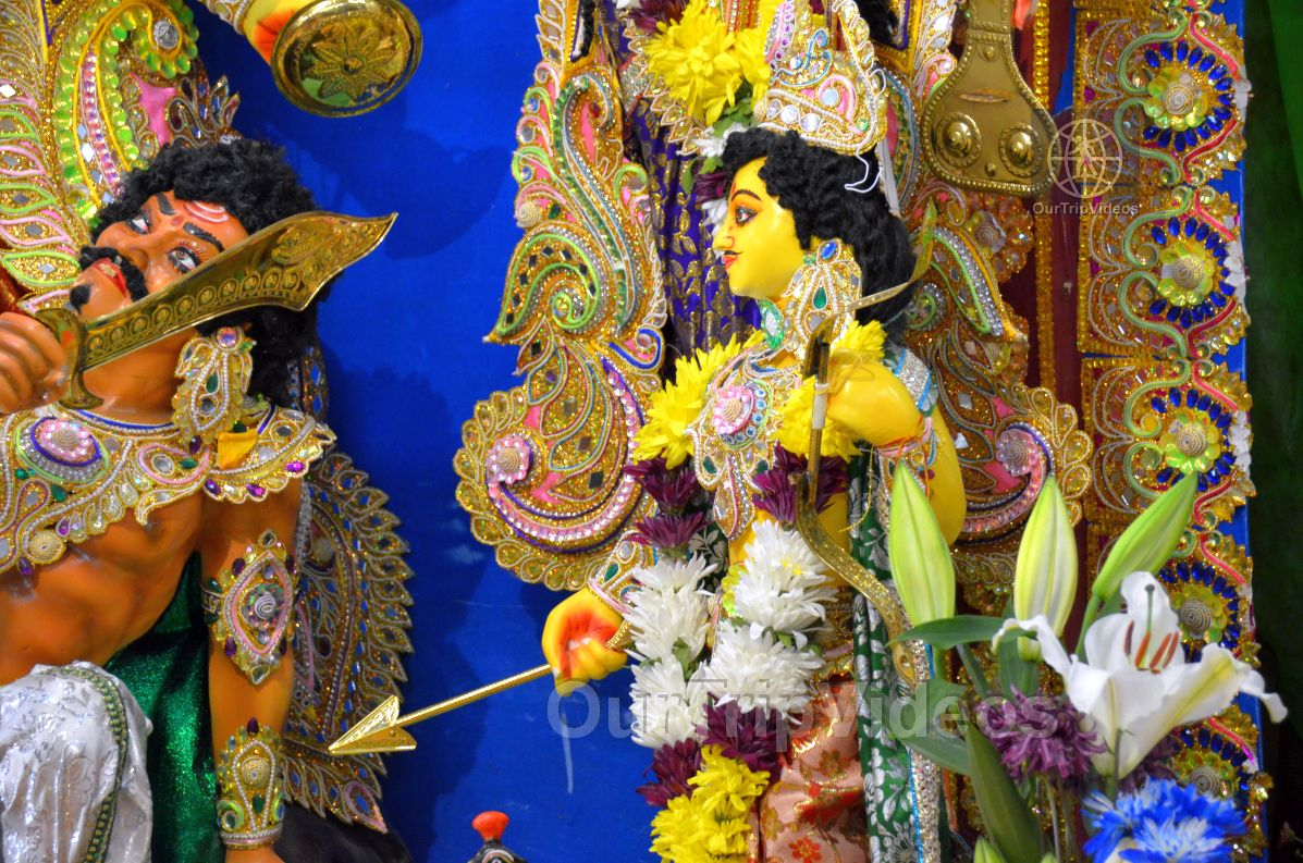 FOG Bengal Durga Puja - Sindur Khela and Temple Aarati, Fremont, CA, USA - Picture 9 of 25