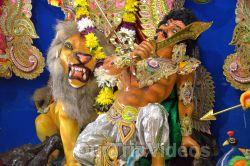 FOG Bengal Durga Puja - Sindur Khela and Temple Aarati, Fremont, CA, USA - Picture 7