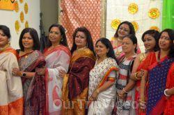 FOG Bengal Durga Puja - Sindur Khela and Temple Aarati, Fremont, CA, USA - Picture 20