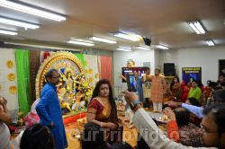 FOG Bengal Durga Puja - Sindur Khela and Temple Aarati, Fremont, CA, USA - Picture 24