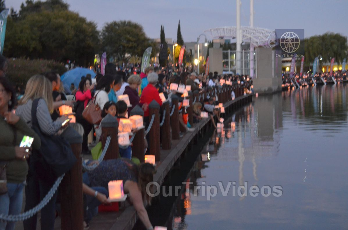 San Francisco(Bay Area) Water Lantern Festival, Foster City, CA, USA - Picture 55 of 75