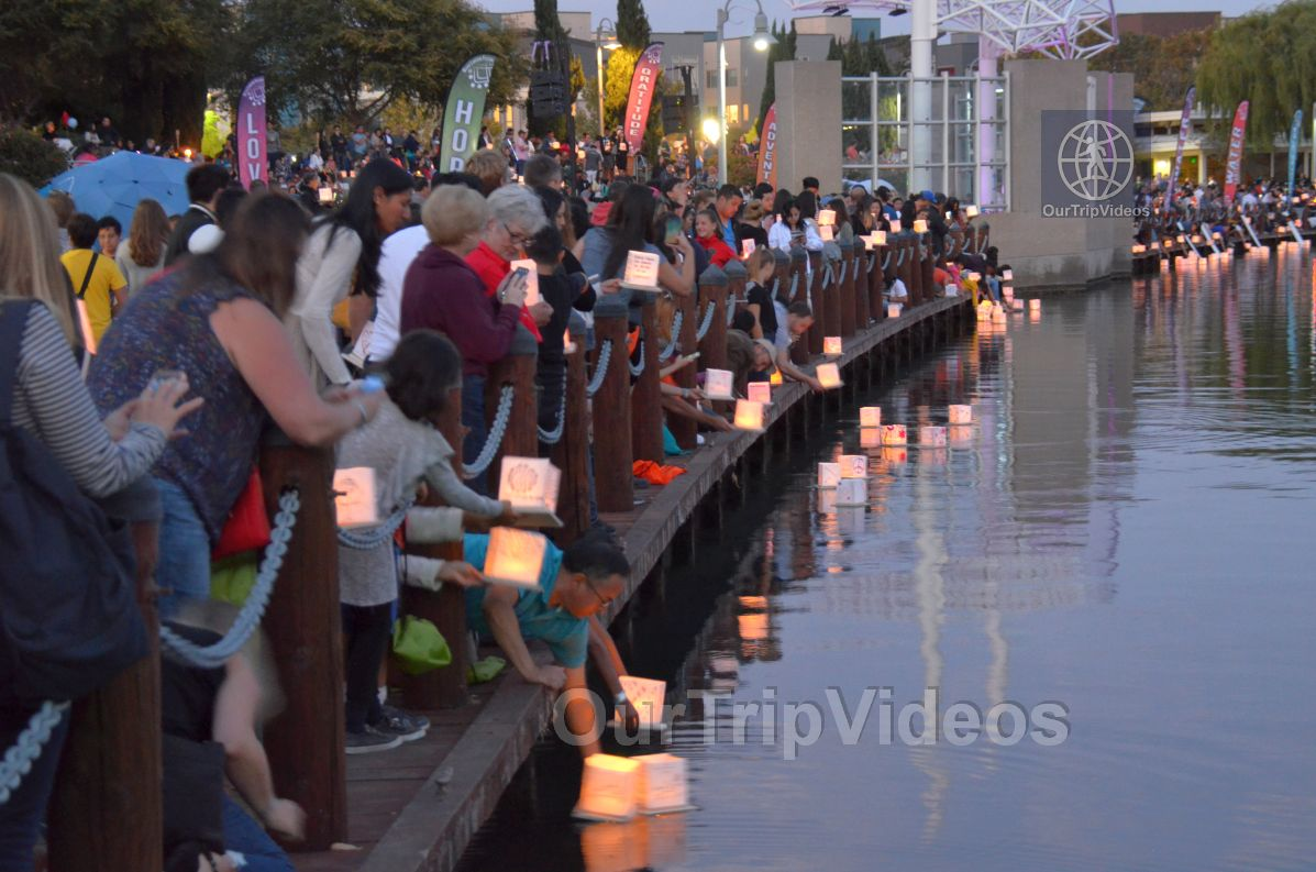 San Francisco(Bay Area) Water Lantern Festival, Foster City, CA, USA - Picture 57 of 75