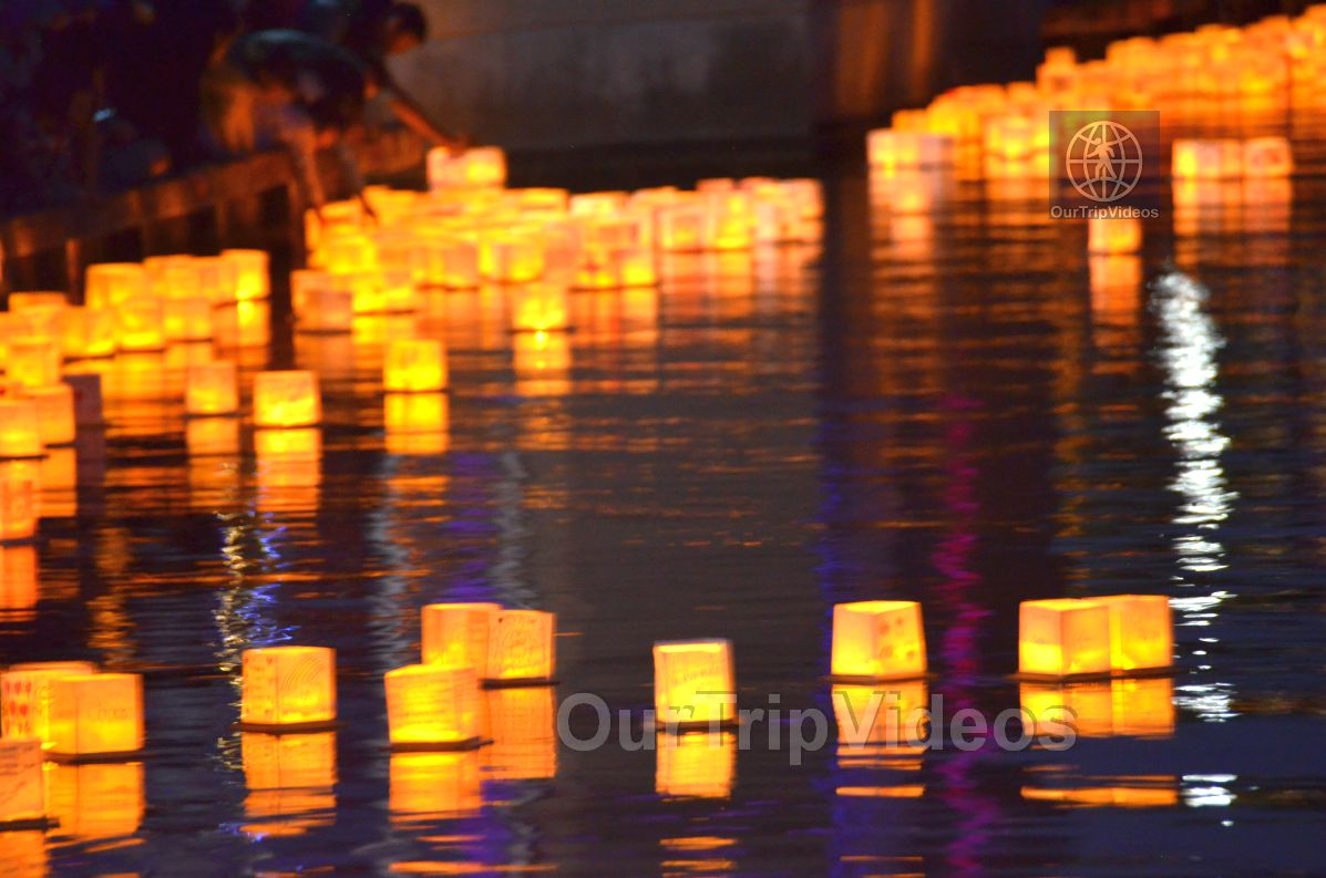 San Francisco(Bay Area) Water Lantern Festival, Foster City, CA, USA - Picture 72 of 75