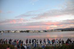 San Francisco(Bay Area) Water Lantern Festival, Foster City, CA, USA - Picture 49