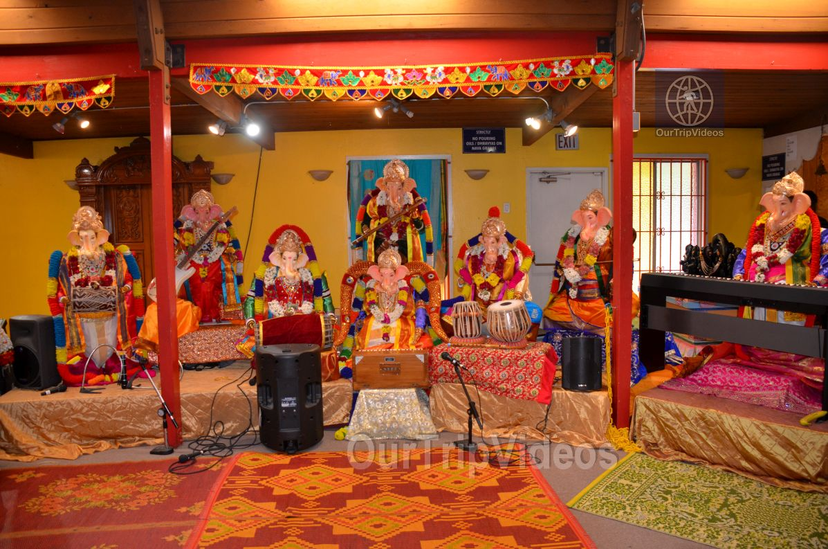 Ganesh chaturthi at SVCC Temple, Fremont, CA, USA - Picture 1 of 25